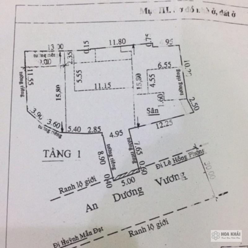 Dự Án Quận 5 - An Dương Vương